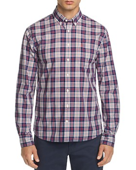 65c4a921d75 Johnnie-O - Wright Plaid Regular Fit Button-Down Sport Shirt ...