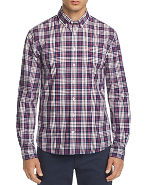 Johnnie-o Wright Plaid Regular Fit Button-Down Sport Shirt