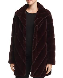 Calvin Klein - Faux Fur Teddy Coat