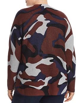 525 America Plus - Camo Cotton Shaker Knit Cardigan