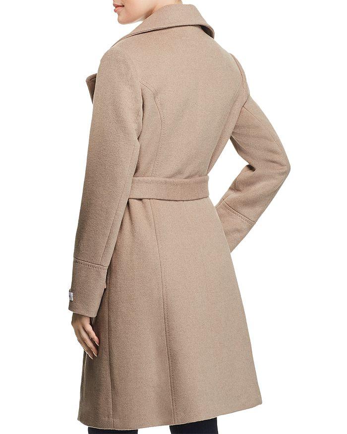 db595e6abb4e3f Calvin Klein - Notched Collar Wrap Coat