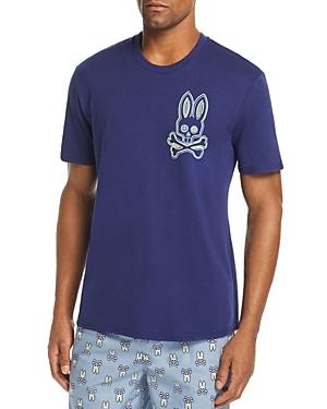 Psycho Bunny Lounge Bunny Crewneck Tee