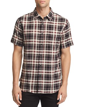 JACHS NY - Plaid Short-Sleeve Regular Fit Shirt - 100% Exclusive
