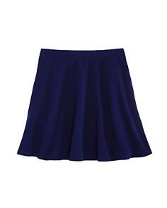AQUA Girls' Textured Swing Skirt, Big Kid - 100% Exclusive - Bloomingdale's_0