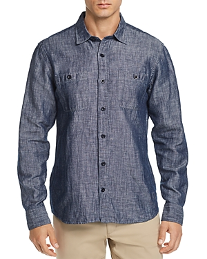 Oobe Millworks Regular Fit Chambray Shirt