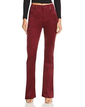 BLANKNYC - High-Rise Flared Corduroy Jeans - 100% Exclusive