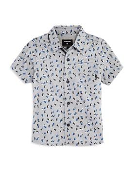 Quiksilver - Boys' Akan Waters Short-Sleeve Shirt - Little Kid