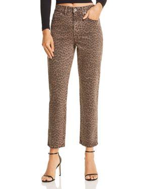 PISTOLA Monroe High-Rise Leopard Print Cigarette Jeans In Wilder - 100% Exclusive