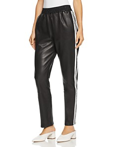 Veda - Rival Leather Track Pants - 100% Exclusive