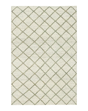 Solo Rugs Flatweave Hand-Knotted Area Rug, 6'1 x 9'1