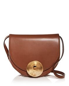 Marni - Monile Leather Shoulder Bag