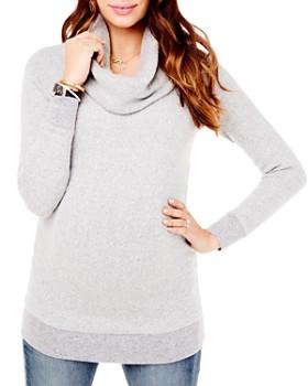 Ingrid & Isabel - Maternity Cowl Neck Sweater