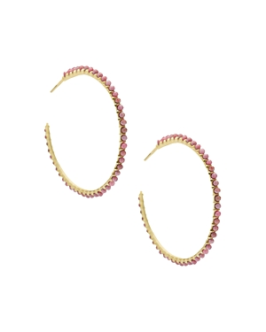 Kendra Scott Birdie Stone Hoop Earrings