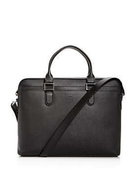Longchamp - Racing Slim Leather Briefcase