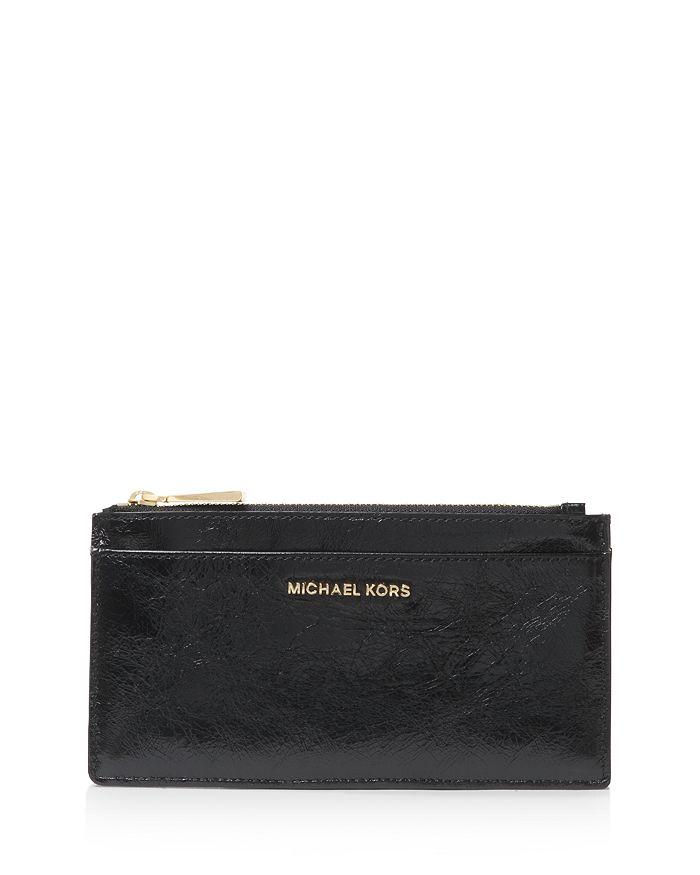 best authentic 57a0e 4351b Money Pieces Large Slim Leather Card Case