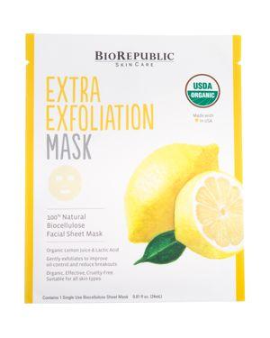 BIOREPUBLIC EXTRA EXFOLIATION SHEET MASK