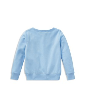 Ralph Lauren - Girls' Floral Polo Terry Sweatshirt - Little Kid