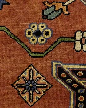 "Solo Rugs - Heriz Ethelinda Hand-Knotted Area Rug, 8'6"" x 11'3"""