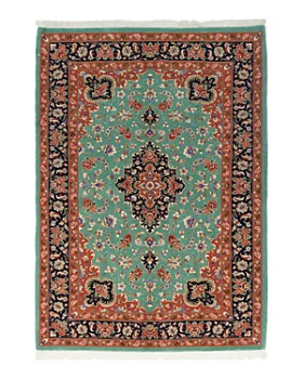"""Solo Rugs - Ghoum Bathsheba Hand-Knotted Area Rug, 4'8"""" x 6'6"""""""
