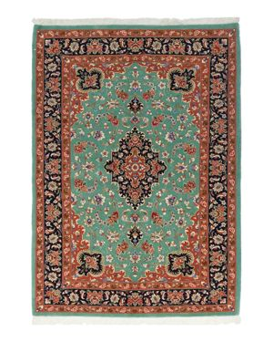 Solo Rugs Ghoum Bathsheba Hand-Knotted Area Rug, 4'8 x 6'6