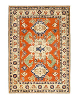 """Solo Rugs - Kazak Magas Hand-Knotted Area Rug, 8'1"""" x 11'5"""""""