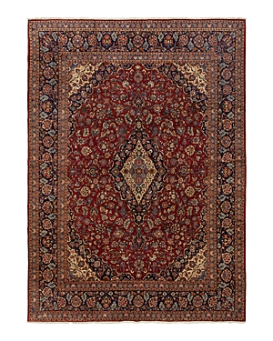 Solo Rugs Kashan Raine Hand-Knotted Area Rug, 10'0 x 14'4