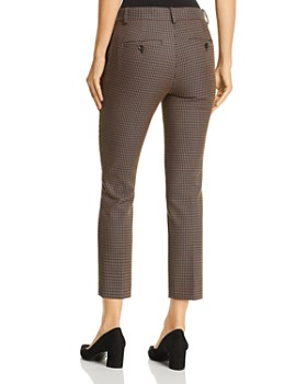 Theory - Treeca Cropped Jacquard Pants