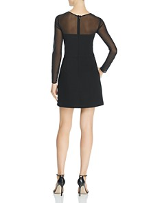 FRENCH CONNECTION - Ruth Sheer-Sleeve Dress - 100% Exclusive