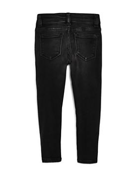 DL1961 - Girls' Black Skinny Moto Jeans - Big Kid