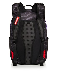 Sprayground - Camo-Print Glitter Shark Backpack