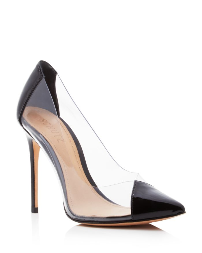 SCHUTZ Women's Cendi Patent Leather High-Heel Pumps  | Bloomingdale's
