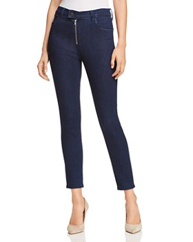 J Brand - Alana High Rise Cropped Skinny Jeans in Whirlwind
