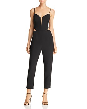 Sunset & Spring - Cropped Cutout Jumpsuit - 100% Exclusive
