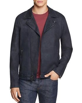 John Varvatos Collection - Denim Moto Jacket