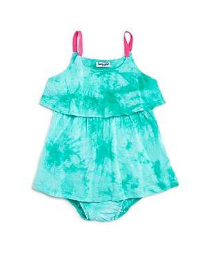 Splendid Girls' Tie-Dye Dress & Bloomers Set - Baby