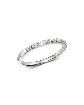 Bloomingdale's - Diamond Stacking Ring in 14K White  Gold, 0.25 ct. t.w. - 100% Exclusive