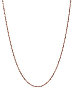 "Dodo - Sterling Silver Chain Necklace, 31.4"""