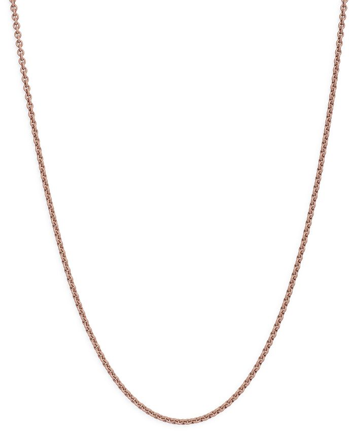 Dodo - Sterling Silver Chain Necklace, 31.4""