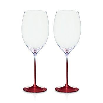 Villeroy & Boch - Allegorie Premium Rose Bordeaux Glass, Set of 2