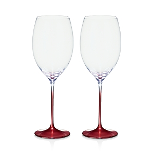 Villeroy & Boch Allegorie Premium Rose Bordeaux Glass, Set of 2