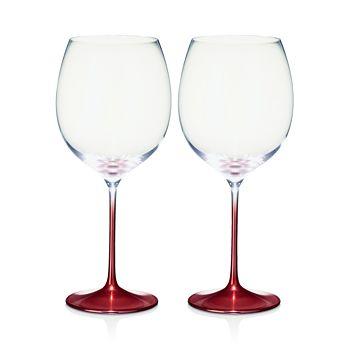 Villeroy & Boch - Allegorie Premium Rose Burgundy Glass, Set of 2