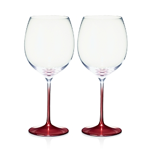 Villeroy & Boch Allegorie Premium Rose Burgundy Glass, Set of 2
