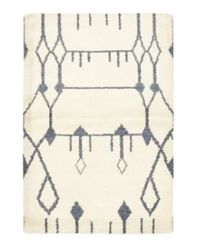 """Solo Rugs - Rabat Tekna Hand-Knotted Area Rug, 4' 5"""" x 6' 6"""""""