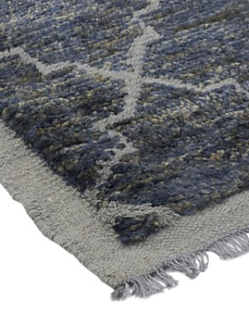 """Solo Rugs - Modern Adira Hand-Knotted Area Rug, 8' 1"""" x 10' 1"""""""