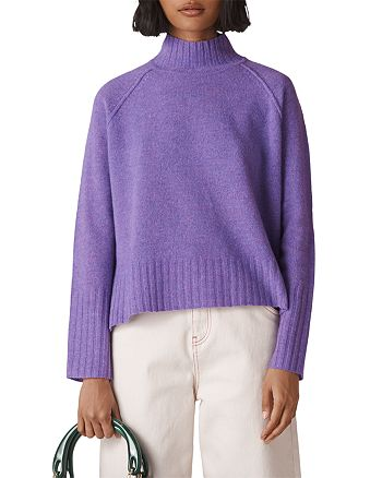 307b413558f Whistles - Funnel Neck Merino Wool Sweater