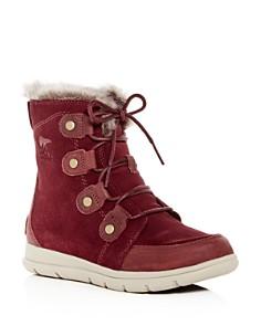 Sorel - Women's Explorer Joan Waterproof Suede Boots