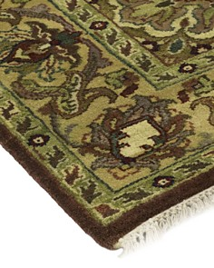 """Solo Rugs - Oushak Udani Hand-Knotted Area Rug, 4'0"""" x 10'2"""""""