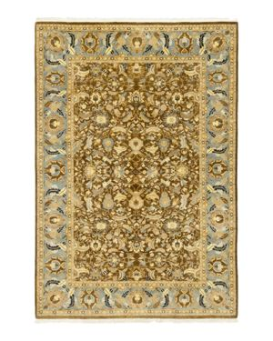 Solo Rugs Oushak Carlisle Hand-Knotted-Area Rug, 6' 1 x 9'