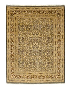 """Solo Rugs - Oushak Evan Hand-Knotted Area Rug, 9'2"""" x 12'3"""""""