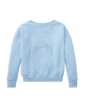 Ralph Lauren - Girls' Floral Polo Terry Sweatshirt - Big Kid